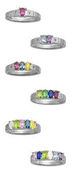 children s birthstone rings for mothers 18 best grandmother rings images on rings