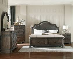 Greensburg Storage Sleigh Bedroom Set Madison Queen Storage 5 Piece Bedroom Set In Mahogany Finish Queen