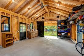 remodeling garage historic garage remodel rustic shed boise by king building