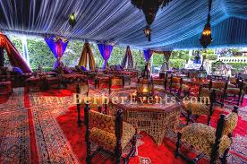 moroccan tents moroccan tent wedding lavishly furnished and decorated tent