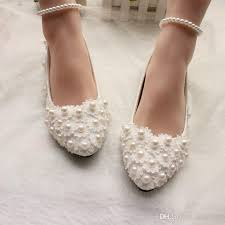wedding shoes flats pearls and lace 2017 wedding shoes flats bridal shoes sweet