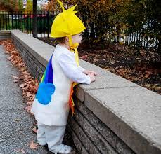 sunshine and rainbow halloween free costume pattern for babies