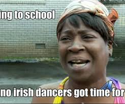 Funny Irish Memes - image about wig in irish dance 3 by maty on we heart it