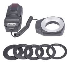 neewer macro ring led light neewer ml 150 macro close up o ring led light flash for canon nikon