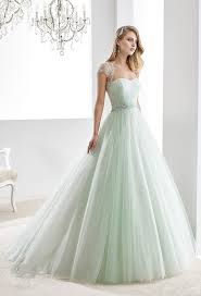 light green dress with sleeves in fashion light green a line wedding dress 2016 bridal gown cap