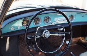 Karmann Ghia Interior 1964 Vw Type 34 Karmann Ghia Coupe