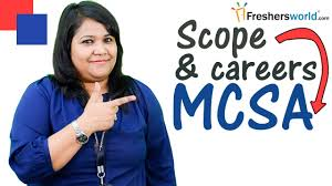 careers and training courses for mcsa microsoft certification