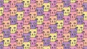 wallpaper cat illustration collect cat pattern by tony kuchar