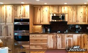 knotty hickory cabinets kitchen knotty hickory cabinets hickory cabinet doors rustic kitchen cabinet