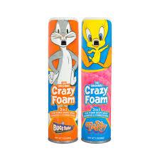 Looney Tunes Nursery Decor by Crazy Foam Looney Tunes 3 In 1 Fun Foam Body Wash Shampoo And