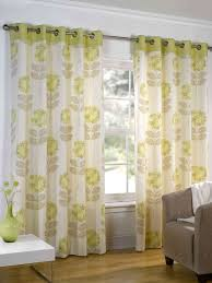 Beige And Green Curtains Decorating Green Patterned Eyelet Curtains Gopelling Net