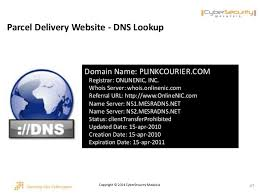 Cyber Secret Malaysia Dns Server by 04 Secure The Human