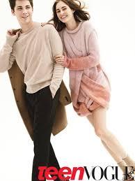 Logan Lerman Vanity Fair Logan Lerman And Laura Love Model Oversize Sweaters And Knits
