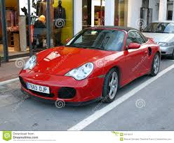 red porsche 911 convertible red porsche 911 turbo editorial photography image