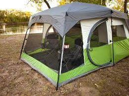 amazon com coleman evanston 6 person dome tent with screen room