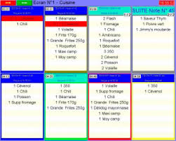 logiciel de restaurant euresto gestion des commandes en fast