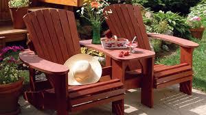 chaise adirondack duo de chaises adirondack pour la terrasse rénovation bricolage
