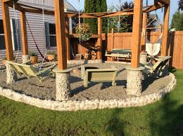 Backyard Swing Plans by Simple Diy Porch Swing Fire Pit Pit Square Tile With Cover Bronze