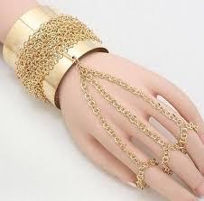 bracelet chain ring images Chain bracelet rings collection on ebay jpg