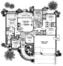 floor plans with porte cochere european house plans littlefield 30 717 associated designs with