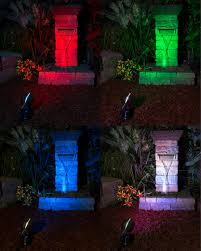 multi color led landscape lighting 6w color changing rgb led landscape spotlight remote sold