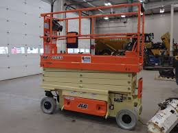 2017 jlg 2632es scissor lift for sale 2 hours morris il
