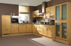 birch wood kitchen cabinets iran oak modern prefab complete birch wood kitchen
