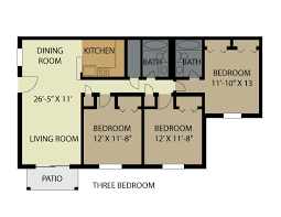 3 bedroom 2 bath floor plans vestavia park