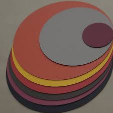dining room orginal color round placemats with varatiev four