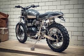 triumph motocross bike kingston customs scrambler il sardo bonnefication