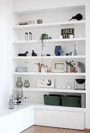 Wohnzimmer Regale Design Die Besten 25 Wohnzimmer Regal Ideen Auf Pinterest Wandregal