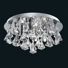 Glass Droplet Ceiling Light contemporary crystal chandeliers modern crystal ceiling lights