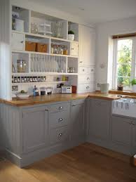 Farrow And Ball Kitchen Cabinets by Grey Kitchen Cabinets With Butcher Block Countertops Outofhome