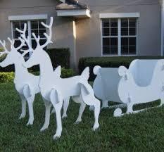 Outdoor Christmas Decorations Huskies by Santa And Sleigh Outdoor Decorations U2039 Decor Love