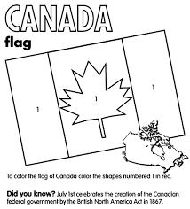 Canada Flag Coloring Page Crayola Com Flag Color Page