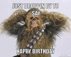Wars Happy Birthday Quotes 18 Best Star Wars Birthday Greetings Images On Pinterest