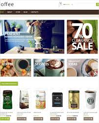 the free coffee shop jigo shop html 5 template is a beautifully