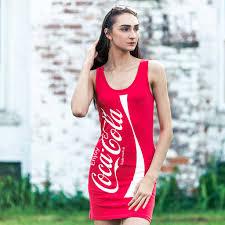 Coca Cola Halloween Costume Dress Coke Coca Cola Tunic Tank Dress Tank Dress Tv Store