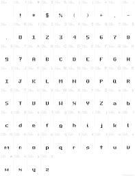 dot type regular font