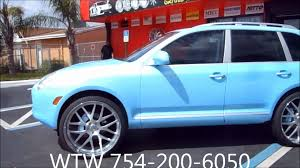 Porsche Cayenne Rims - acewhips net wtw customs broward outrageous porsche cayenne on