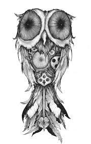 clockwork owl tattoo pinterest tattoo