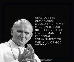 wedding quotes paul ii pope st paul ii catholic st paul ii