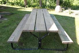 Wood Table Refinishing Refinishing A Picnic Table Cabinorganic