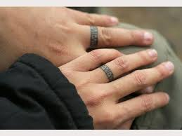 Wedding Ring Finger by 30 Unique Wedding Ring Finger Tattoos For Teens Tattoosera