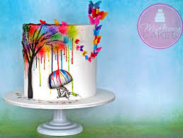 graphic art u0026 illustrated cake designs cake geek magazine