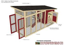 chicken coop building plans pdf with easy build chicken coop plans