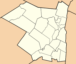 county map of ny ulster county york