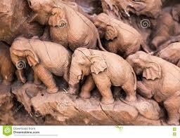 stone elephant statue stock photo image 72597853