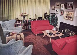 retro livingroom living room trends from the 50s to now around the house