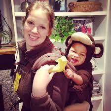 Monkey Halloween Costume Baby Baby Carrier Halloween Costumes Popsugar Moms